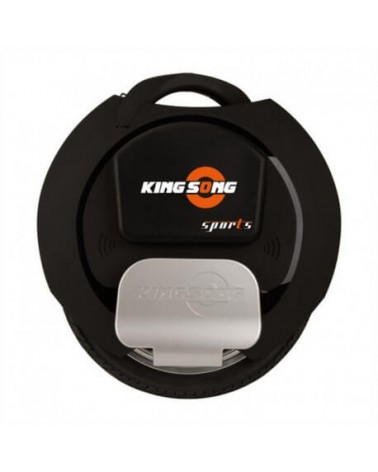 Vienaratis KingSong KS-16S 840Wh Black Rubber